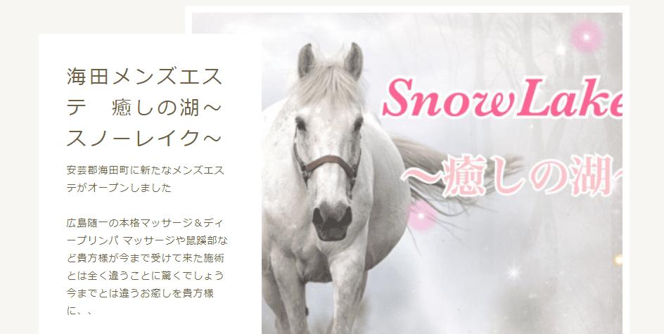 海田メンズエステ-スノーレイク